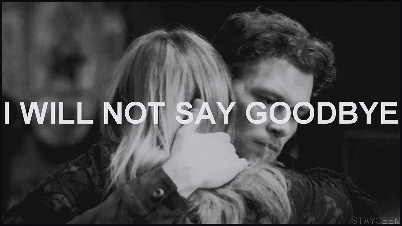 Klaus And Cami Klamille I Will Not Say Goodbye 3x10