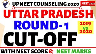 Uttar Pradesh MBBS Cut-off Round -1 Counseling 2020🔥🔥Private Colleges
