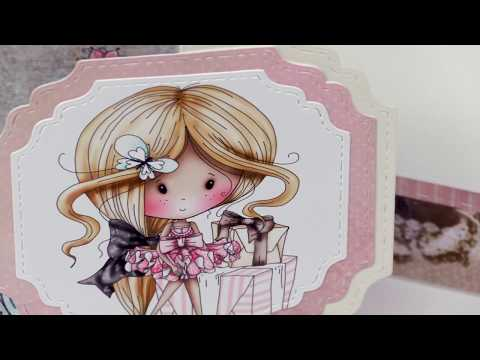 How To Create And Easy Easel Flip Card With Angie Hunt | LDRS Creative