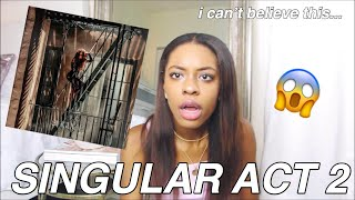 "THIS IS CRAZY... MY LIVE REACTION TO ""SINGULAR ACT 2"" BY SABRINA CARPENTER"