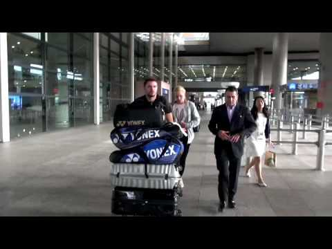 Shanghai Rolex Masters - player arrivals
