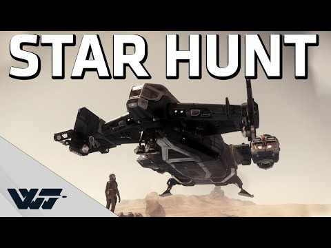 STAR HUNTER - Bounty hunting a player in Star Citizen