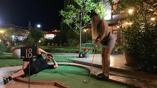 MINI-GOLF CU ALEXANDRA IN BULGARIA 🏌🏻‍♀️