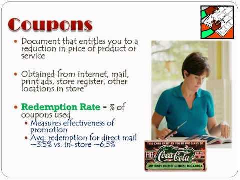 Promotion - Sales Promotion
