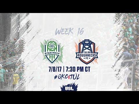 USL LIVE - OKC Energy FC vs Tulsa Roughnecks FC 7/8/17