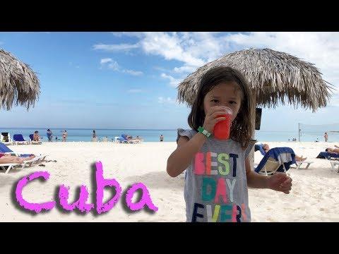 Dhawa Resort, Cayo Santa Maria, Cuba - 5 Year Old Kid, Ava, Goes To Cuba