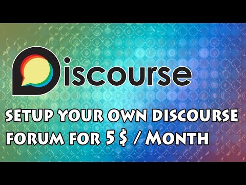 Install And Setup Discourse Forum On VPS Server For 5$/Month