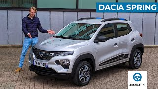 2021 Dacia Spring review (ENGLISH) Cheapest electric car in Europe - AutoRAI International