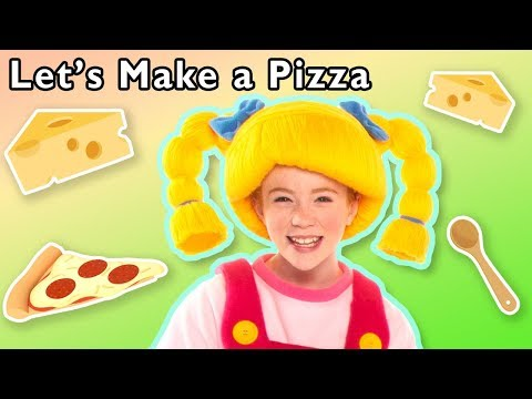 Let's Make a Pizza and More | TASTY FOOD RHYMES | Baby Songs from Mother Goose Club!