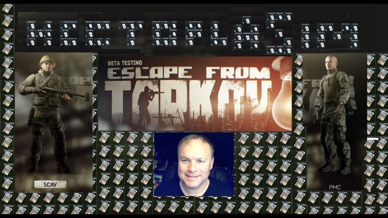 Live Stream Escape from Tarkov by Hectoplasim Shoreline for