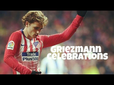 Antoine Griezmann Celebrations(Part 1)