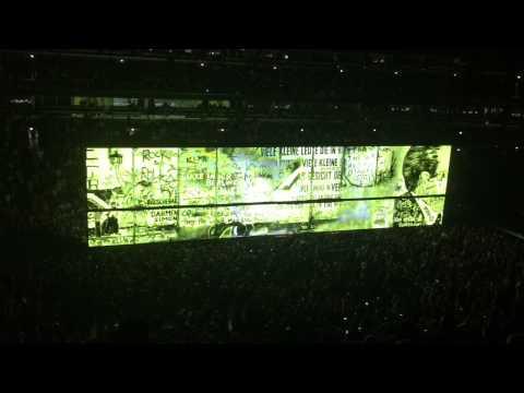U2 at United Center Chicago 2015