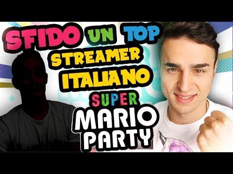 SFIDO UN TOP STREAMER ITALIANO! - Gameplay Super Mario Party Nintendo Switch Ita