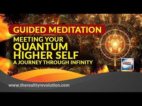 GUIDED MEDITATION MEETING YOUR QUANTUM HIGHER SELF JOURNEY THROUGH INFINITY 777hz 111hz 396hz 528hz
