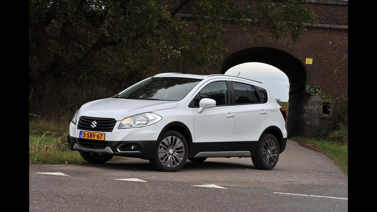 suzuki sx4 s cross 1 6 test youtube. Black Bedroom Furniture Sets. Home Design Ideas