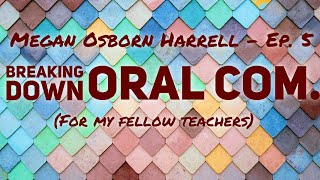 Teaching Tips for Oral Communications / Lesson Plan Ideas