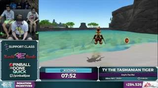 Ty the Tasmanian Tiger by Kythol in 1:01:58 - SGDQ 2016 - Part 74