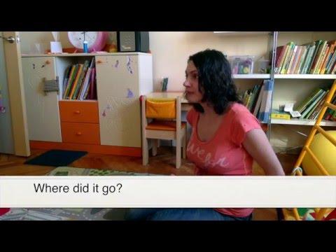 Английский для малышей - играем и поем One bright scarf