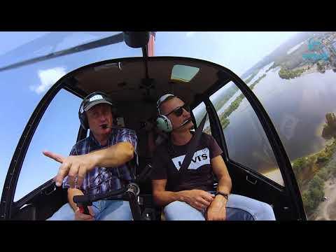 Полет на самолете и вертолете