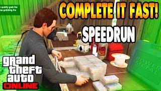 GTA 5 Online Cayo Perico Heist SOLO SPEEDRUN (With Elite Challenge)