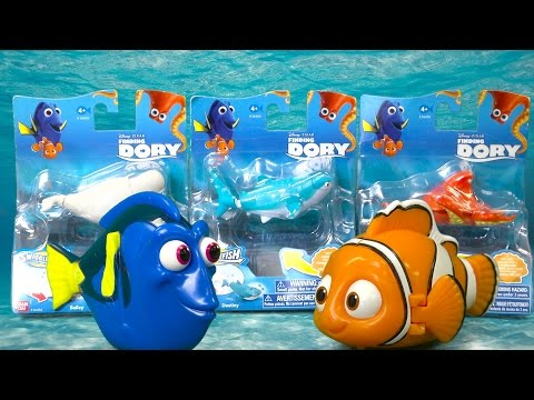 Finding Dory With Tag Swigglefish Bandai Disney Pixar Toy Wave 2 #36412