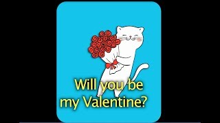 抖英语:Will you be my Valentine?