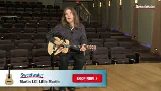 Martin LX1 Little Martin Acoustic Guitar Review   Sweetwater Sound