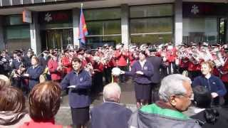 Star Lake March (Eric Ball) by Basel 1 and Zürich Zentral Salvation Army bands