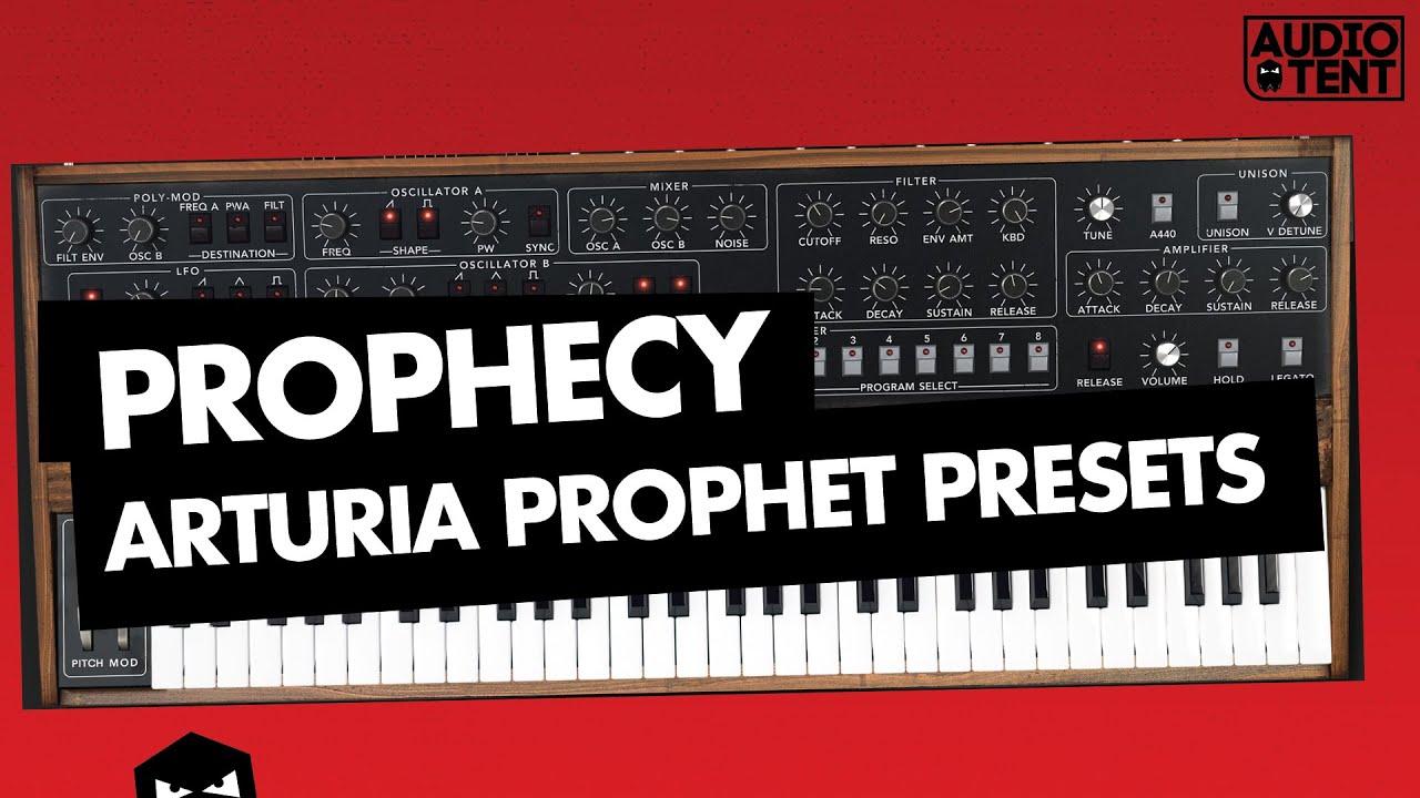 arturia prophet v presets audiotent prophecy melodic techno inside look youtube. Black Bedroom Furniture Sets. Home Design Ideas