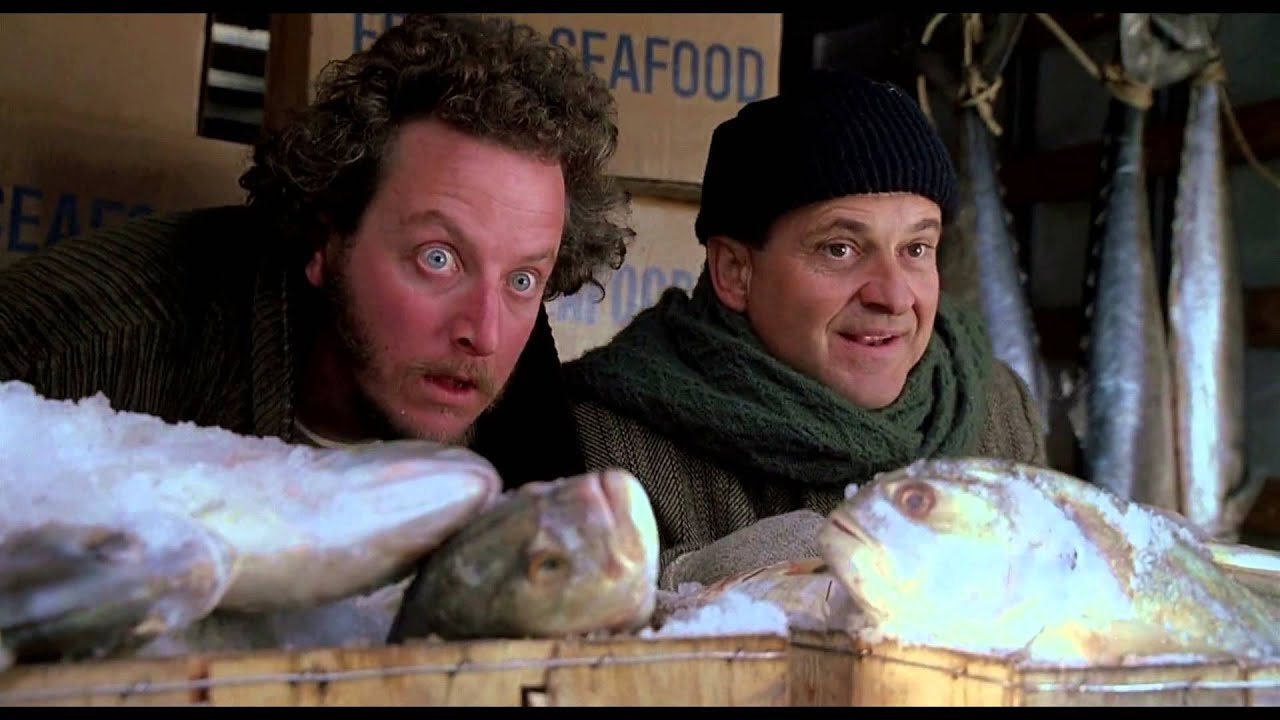 Home alone 2 Do you smell that marv