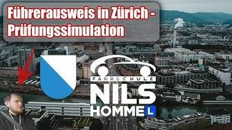 Führerausweis in Zürich? - Prüfungssimulation mit der Fahrschule