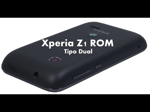 Sony Xperia Z1 ROM for Sony Xperia Tipo Dual