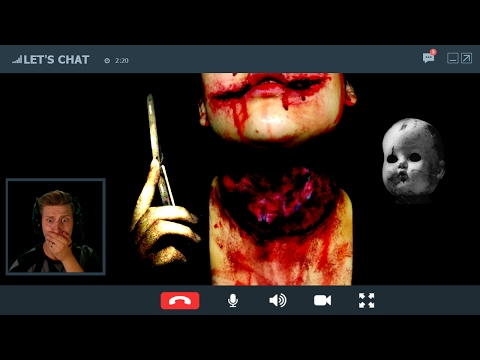 SCARY SKYPE CALL! - THIS VIDEO CHAT TURNED OUT INCREDIBLY CREEPY! - LET'S CHAT [HORROR GAME]