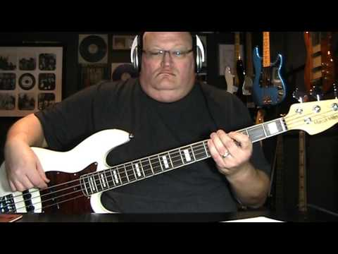 Dio Rainbow In The Dark Bass Cover with Notes & Tablature