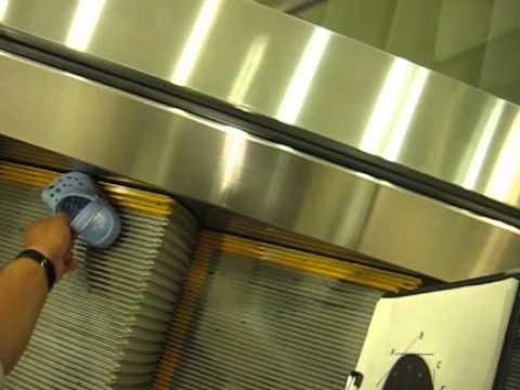 8c31280f6e599 Testing with Crocs on an escalator - YouTube