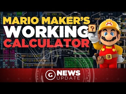 this mario maker level is a working calculator gs news update