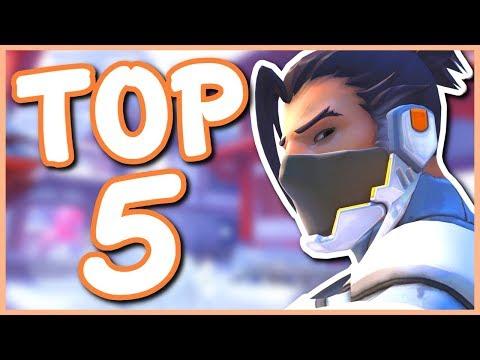 Overwatch - MY TOP 5 LEAST FAVORITE HEROES IN OVERWATCH