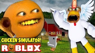 Roblox: Chicken Simulator! 🐔 [Annoying Orange Plays]