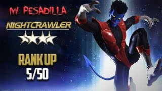 Mi Pesadilla: Nightcrawler 4 Estrellas Rank Up 5/50 - Marvel Contest Of Champions