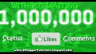 How to use get unlimited like in facebook by using MG liker with proof 100 working
