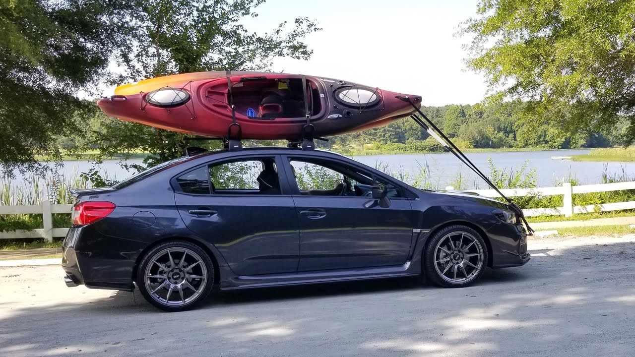 2018 Wrx Thule Roof Rack Install Youtube