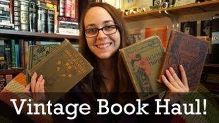 Скачать Vintage Old Book Haul