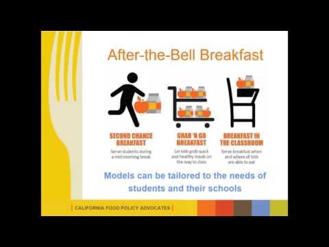 Grants to Expand School Breakfast Webinar #1