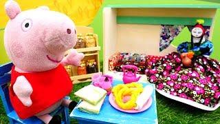 Видео с игрушками для детей — Свинка Пеппа в Турции
