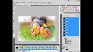 уроки Photoshop-Наложение несколько футажей одновременно