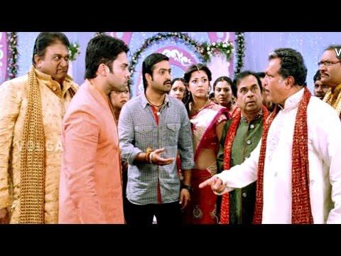 Telugu Comedy Zone - After Sangeeth Scene In Baadshah - NTR, Nassar, Navdeep