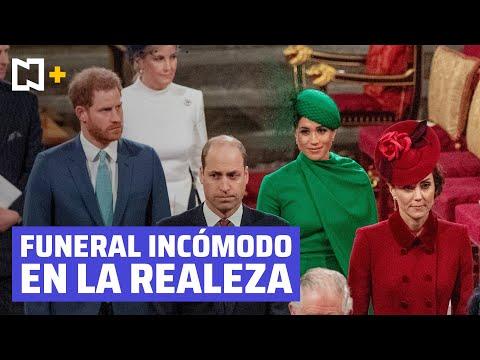 Príncipe Harry llega al Reino Unido sin Meghan Markle para funeral del príncipe Felipe.