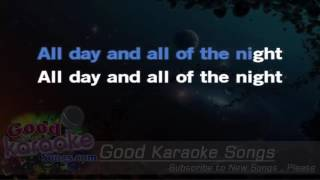 All Day And All Of The Night - The Kinks ( Karaoke Lyrics )