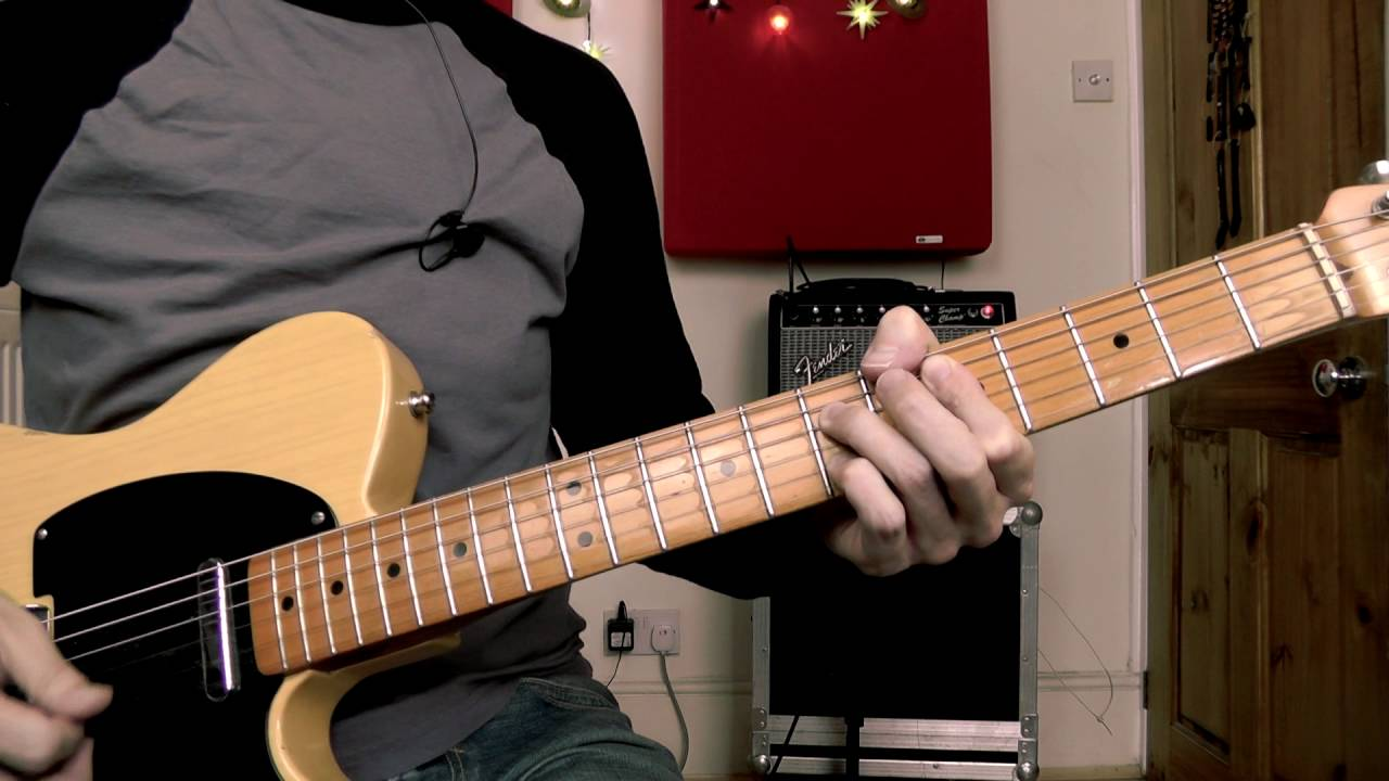 An Incredible Blues Solo From One Simple Lick Guitar Lesson
