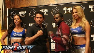 Mauricio Herrera vs. Hank Lundy Full Video- Complete press conference and face off